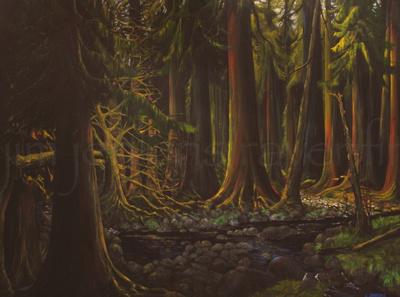 sutton creek  36 x 48 inches