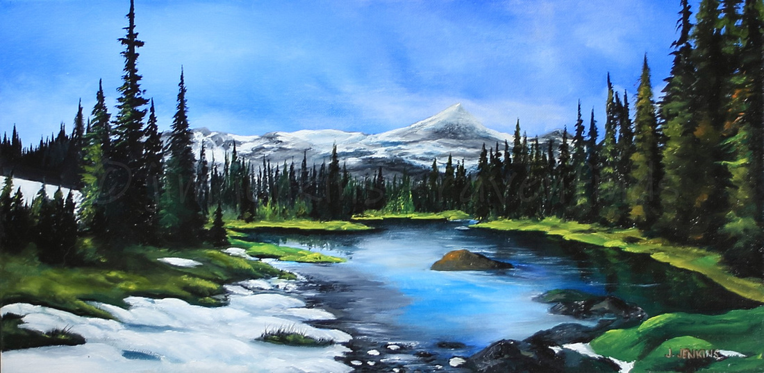 strathcona park  10x20 inches